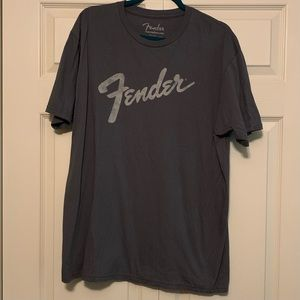 Fender Guitar Tee Shirt - Men's XL